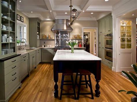 green kitchen island charming mint kitchen dalzell hgtv