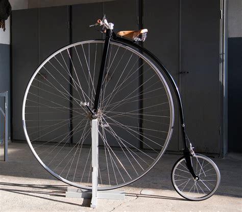 designboom wheel high wheeled bicycles by standard highwheels for modern