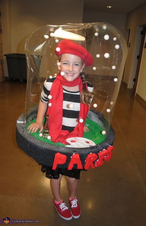 paris snow globe halloween costume contest  costume