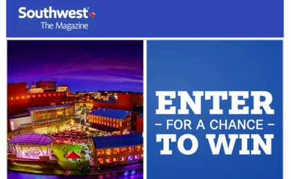 Southwest Sweepstakes - southwest the magazine greenville getaway sweepstakes sun sweeps