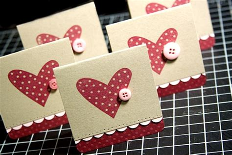 Handmade Valentines Cards - adorable valentines day handmade card ideas pink lover