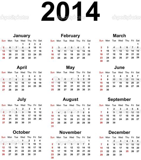 2014 calendar template with holidays get your 2014 us calendar printed today with holidays