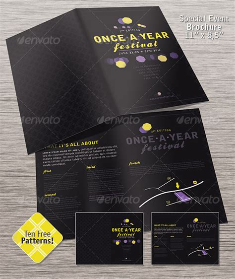design event brochure 20 cool event brochure templates