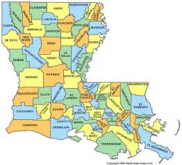 louisiana parish map la parishes map of louisiana