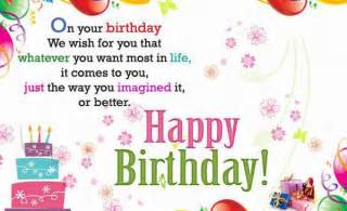 wish you a happy birthday words texted wishes card images pixhome
