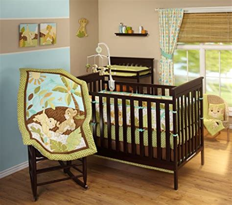 Cing Baby Crib by Disney King Traditional Padded Bumper Baby Bedding