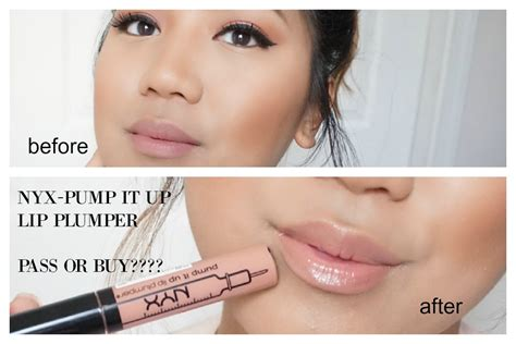 Nyx Lip Plumper nyx it up lip plumper review buy or pass