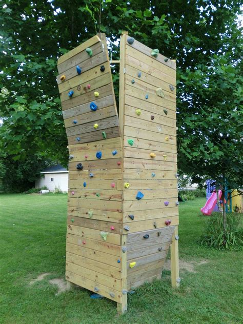 backyard bouldering wall 20 diy rock climbing walls to bring the mountains closer