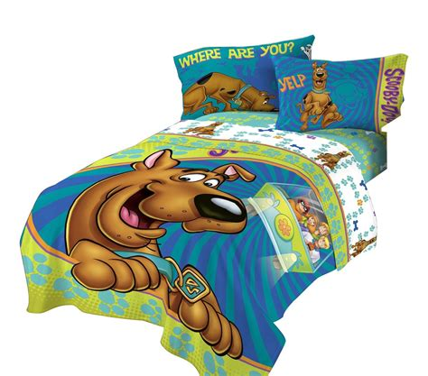 Scooby Doo Twin Bed Comforter Smiling Scooby Bedding Scooby Doo Bed Sheets