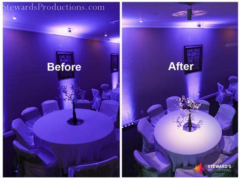 pin spot lighting dallas wedding dj steward s