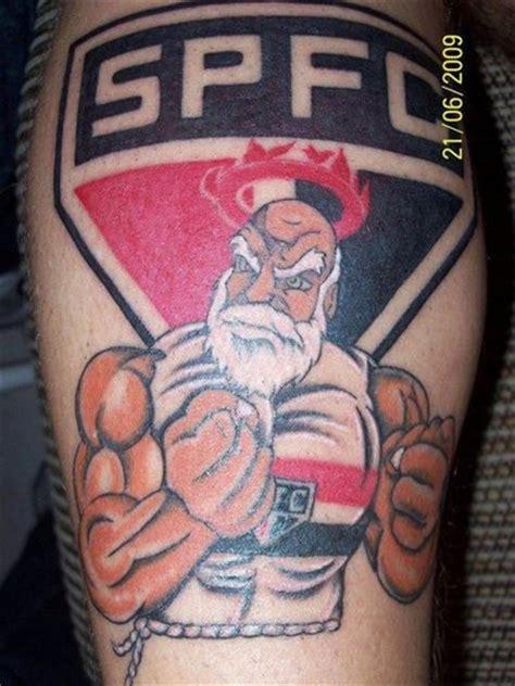 leeds tattoo sao paulo tatuagem do s 227 o paulo fc na perna ideias e dicas