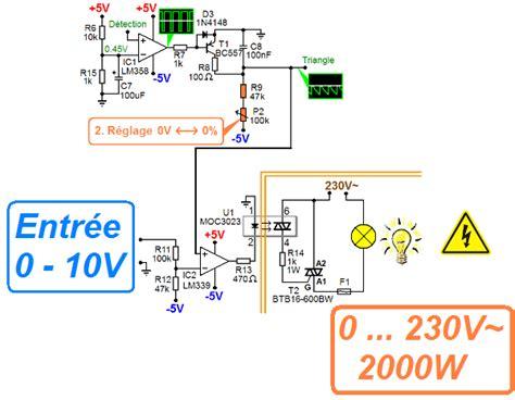 Le 0 10v by Sch 233 Ma Variateur De Lumi 232 Re 0 10v Astuces Pratiques