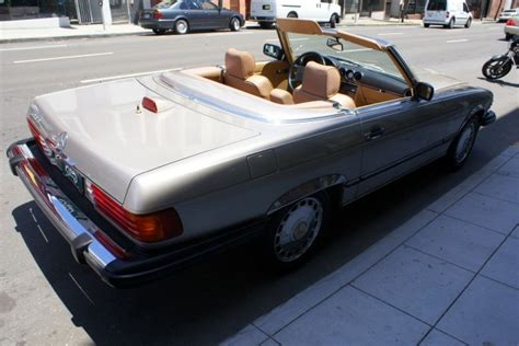 security system 1987 mercedes benz s class lane departure warning used 1987 mercedes benz 560sl for sale 6 900 cars dawydiak stock 110501