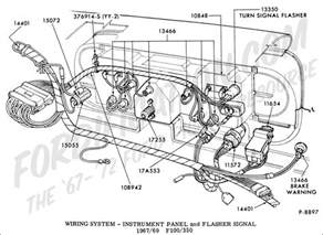 1970 ford f100 truck wiring diagram for headlight 1970 truck free wiring diagrams