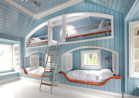 bunk bed rooms beach themed bedrooms fresh ideas to decorate your interior