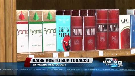 legal age to buy a house arizona one step closer to raising the legal age for possessing tobacco products to 21