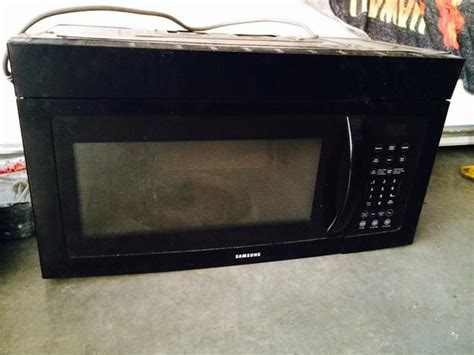 built in microwave with exhaust fan microwave range hood combo black north nanaimo nanaimo