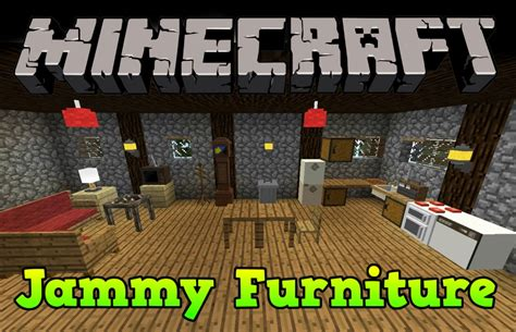 Minecraft The Furniture Mod by Jammy Furniture Reborn Mod 1 7 10 Minecraft Mods