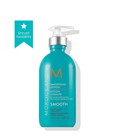 una hair products from italy lozione lisciante italy moroccanoil