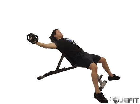 dumbbell bench fly dumbbell incline one arm fly exercise database jefit