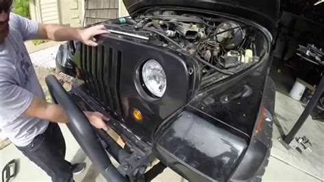 Jeep Yj Headlight Conversion Jeep Wrangler Yj Headlight Conversion Kit Yj Conversions