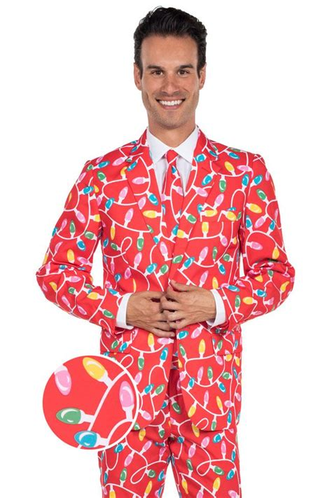 suit for christmas party s lightbulb suit tipsy elves