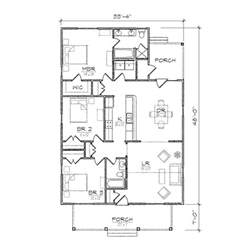 Bungalow House Floor Plans by Clarke Iii Bungalow Floor Plan Tightlines Designs