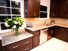 Dark Kitchen Cabinets With Light Granite Countertops by Photos Hgtv