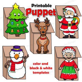 christmas craft activity bundle holiday printable paper