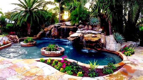 the ultimate backyard water garden youtube
