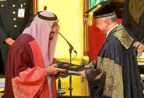 Mba Degree King Abdulaziz by Saudis King Salman Conferred Ums Honorary Doctorate