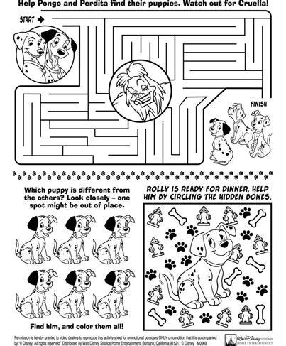 pages printable activities 17 best ideas about disney activities on