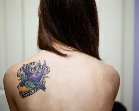 tattoo ideas back shoulder 15 most attractive places for girl to get a tattoo
