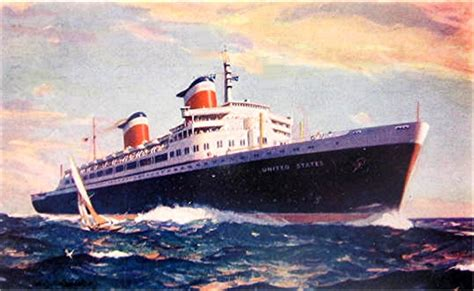 boat mechanic dublin ss united states crossed the atlantic en route to europe