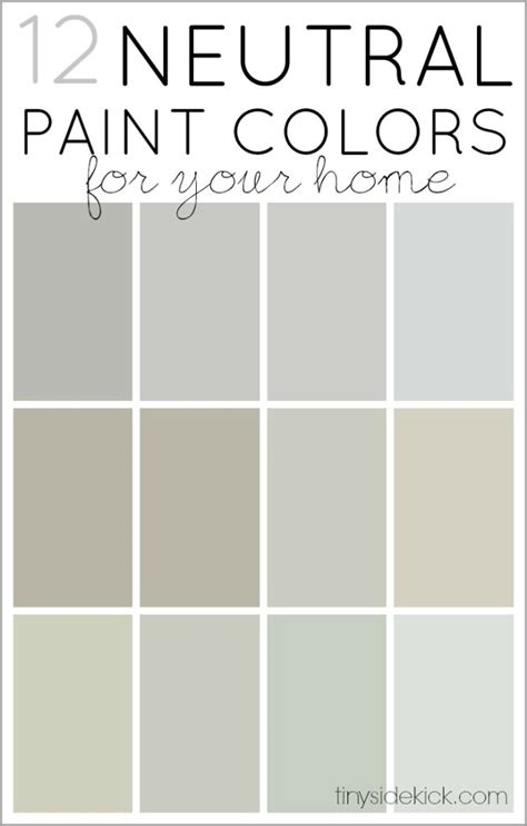 12 neutral paint colors how to the right one tinysidekick bloglovin