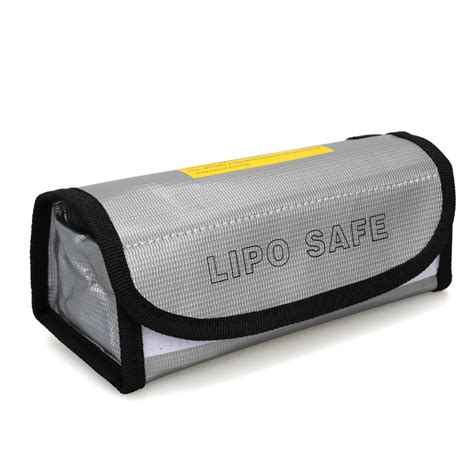 Fireproof Letterbox Bag 185x75x60mm Square Lipo Battery Protector Charging Box Bag Sack Pouch Fireproof Ebay