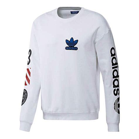 Sweater Wanita Adidas 03 White adidas 2017 eqt white mens crew sweater bq0897 top tshirt adidas mens original adidas prodcuts
