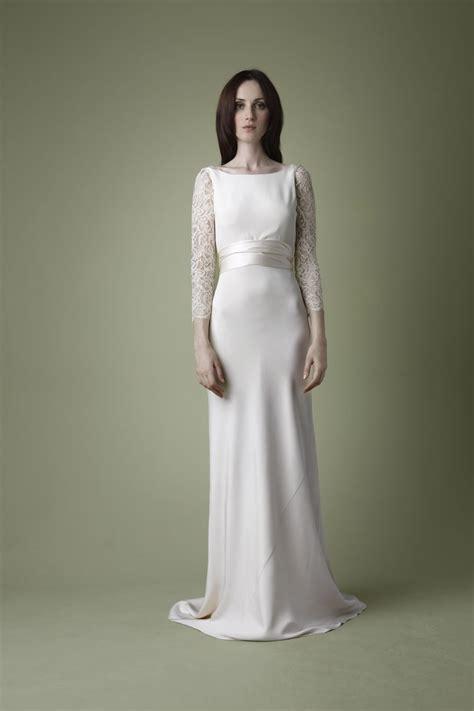 satin silk wedding dresses ivory silk satin wedding dress with boat neckline sang