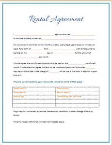 Simple Car Rental Agreement Template Word Rental Agreement Template 2015 Microsoft Word Templates