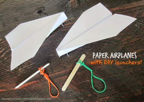 How To Make Airplane Out Of Paper - relentlessly deceptively educational how to make a