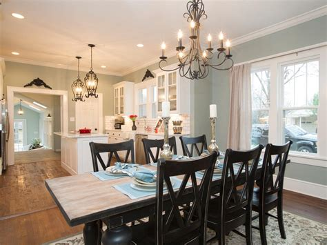 kitchen and dining room colors a 1937 craftsman home gets a makeover fixer upper style hgtv s fixer upper with chip and