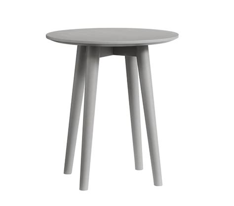 all modern side tables modern spindle side table pottery barn