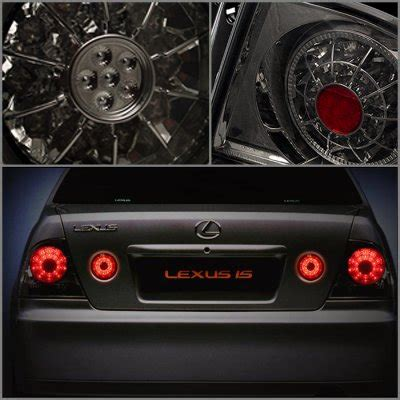 Is300 Led Lights by Lexus Is300 2001 2005 Smoked Trunk Led Lights