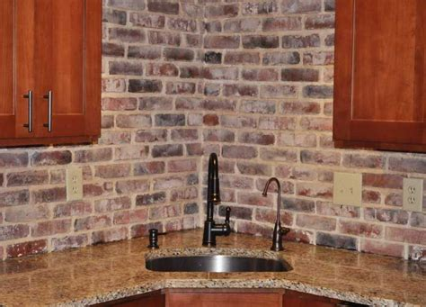 faux brick backsplash in kitchen 122 best images about faux brick panels on