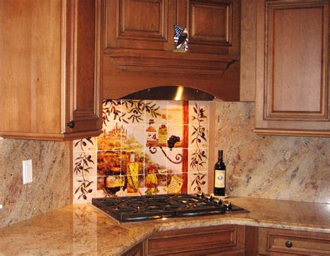 tuscan kitchen backsplash tiles home improvement area