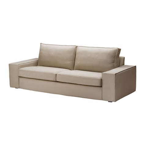 3 seat couch slipcover ikea kivik 3 seat sofa slipcover cover dansbo beige