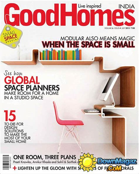good home design magazines good homes india july 2013 187 download pdf magazines