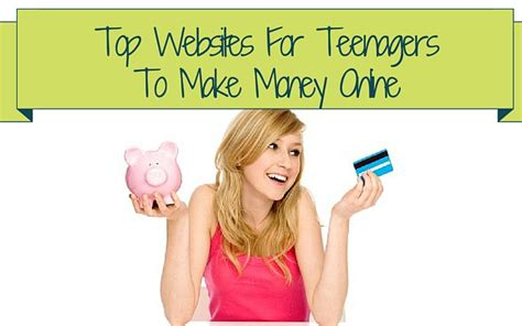 Teenagers Make Money Online - make money online money making tips guides