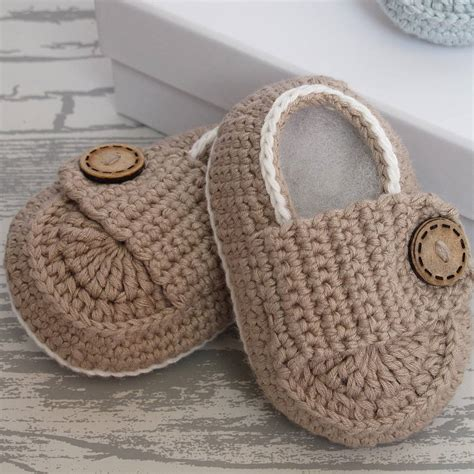 crochet baby shoes crochet bamboo baby shoes by attic