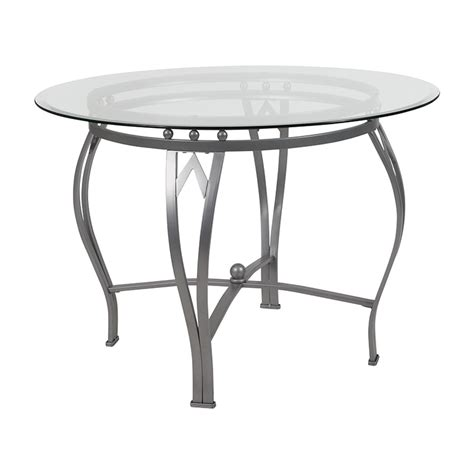 42 glass top dining table 42 glass top table designs